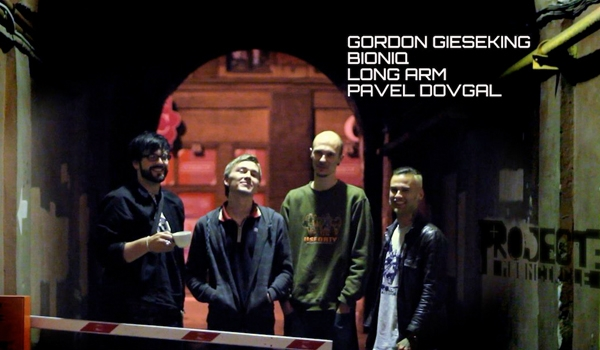 Gordon Gieseking meets Long Arm, Bioniq and Pavel Dovgal. Project: Mooncircle